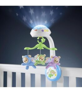 mobile cradle flying bears fisher price