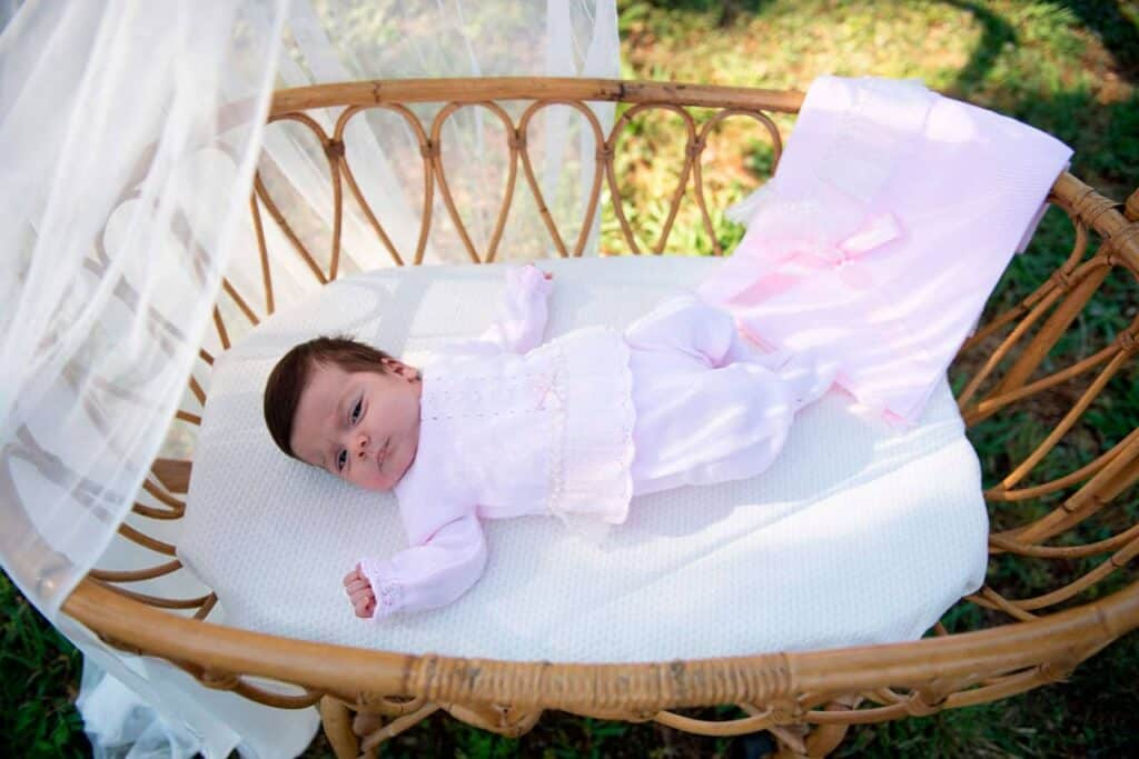 mantitas de bebe entretiempo mac ilusion